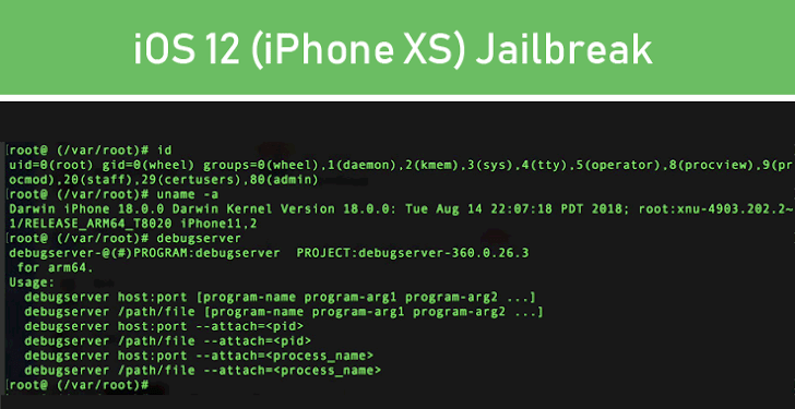 Pangu Hackers have Jailbroken iOS 12 on Apple's New iPhone