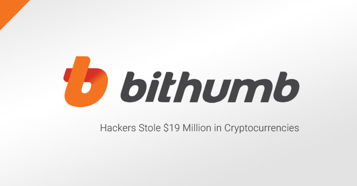 Hackers Steal $19 Million From Bithumb Cryptocurrency