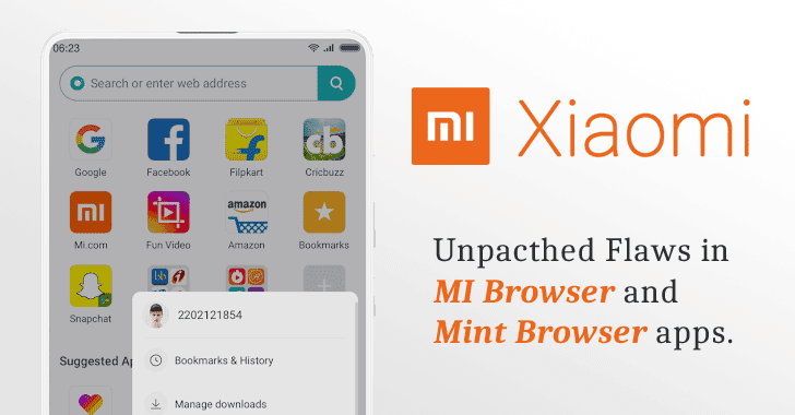 Unpatched Flaw in Xiaomi's Built-in Browser App Lets Hackers