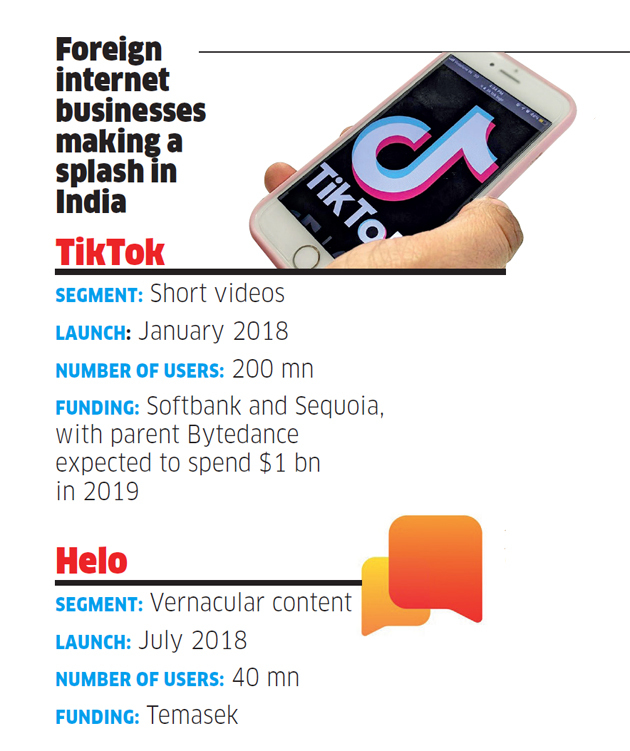 Homegrown internet companies face stiff competition from